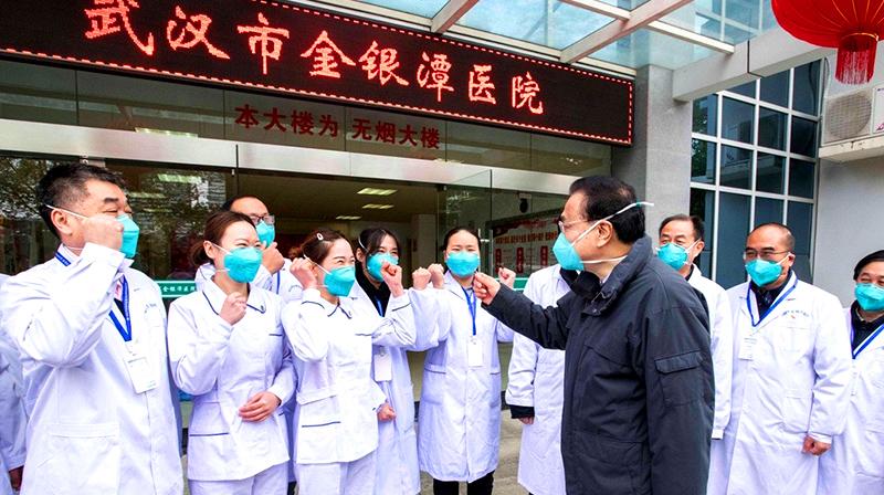 Ban phòng chống dịch bệnh của Trung Quốc không khác gì ban tuyên truyền (ảnh 1)