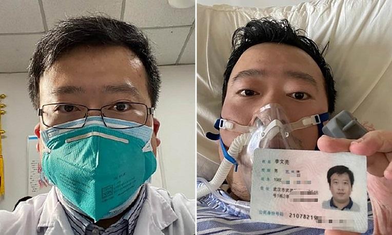Bác sĩ chuyên khoa mắt Lý Văn Lượng, 1 trong 8 vị bác sĩ dũng cảm công bố thông tin dịch bệnh tại Vũ Hán đã qua đời ở tuổi 34 vào ngày 6/2 do nhiễm virus corona.