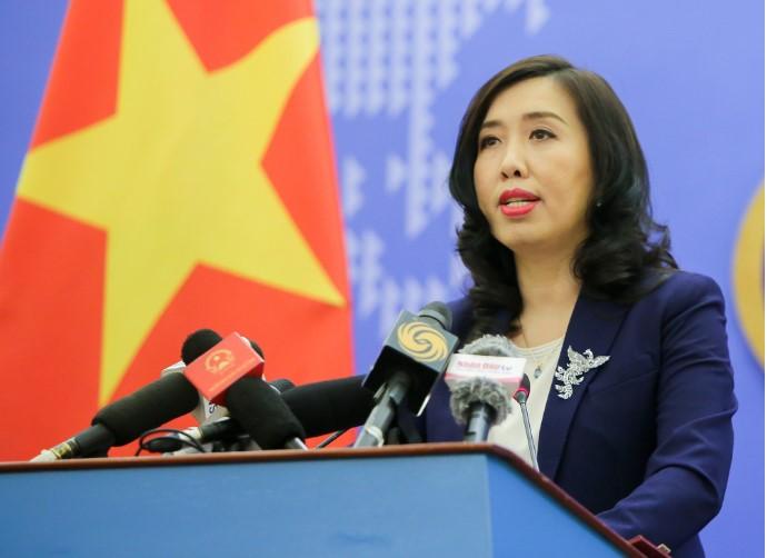 Người phát ngôn Bộ Ngoại giao Việt Nam Lê Thị Thu Hằng. (Ảnh qua tuoitre)