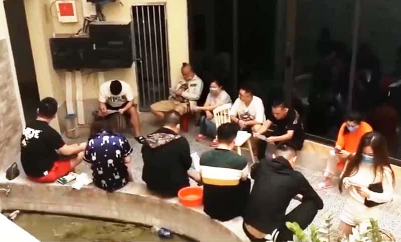 Phát hiện 16 người Trung Quốc lưu trú chui tại Đà Nẵng. (Ảnh qua baodatviet)