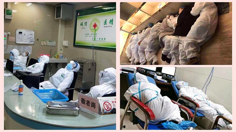 Virus Vũ Hán hiểu binh pháp? Nhân viên y tế ở tuyến đầu không ngừng bị 'tiêu diệt' (ảnh 1)
