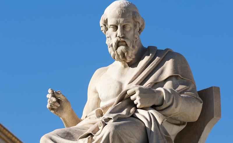 """Platon cho rằng """"thế giới chân lý Toán học"""" là tồn tại độc lập với thế giới vật chất mà loài người đang sống."""