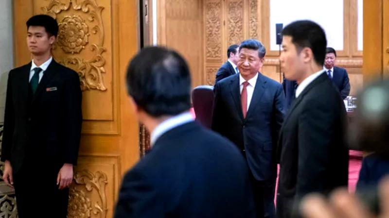 Lan truyền video Tập Cận Bình ho khan, một lần nữa tiết lộ dự án nhân sự cấp cao của Trung Nam Hải (ảnh 1)