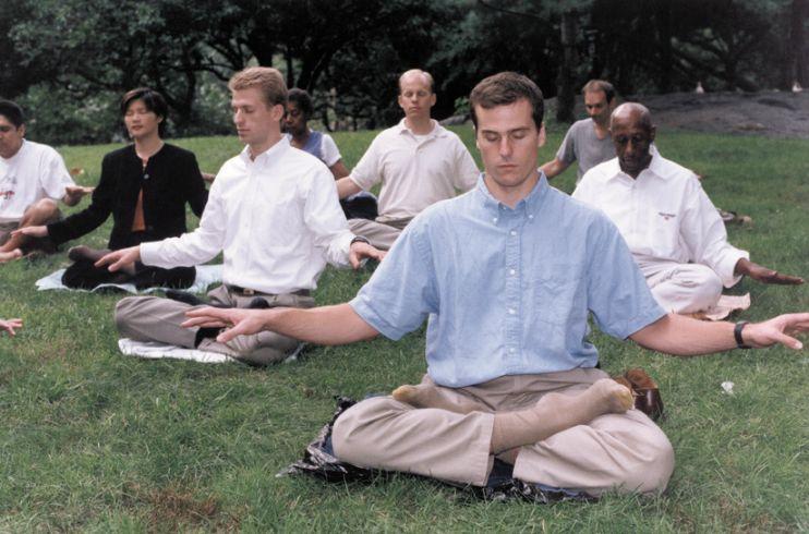 Thiền định cũng là một cách tốt có thể cia hẳn bia rượu. (Ảnh minh họa)