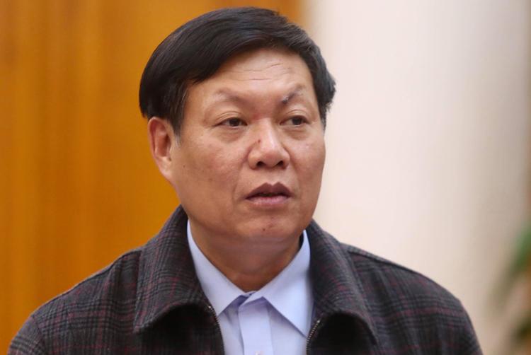 Thứ trưởng Bộ Y tế Đỗ Xuân Tuyên. (Ảnh qua vnexpress)
