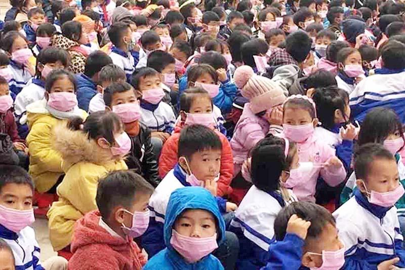 Học sinh tiểu học ở huyện Nậm Pồ (Điện Biên). (Ảnh qua vietnamnet)