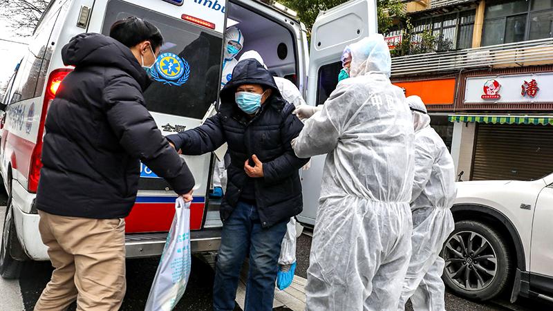 Nội Mông Cổ: Nghi ngờ một bệnh nhân bị lây viêm phổi Vũ Hán từ người sống ở tầng dưới (ảnh 1)