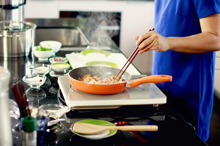 Cần nấu chín đồ ăn