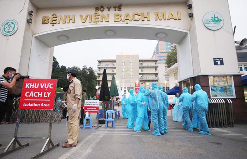 Thêm 6 ca nhiễm virus Vũ Hán đều thuộc ổ dịch Công ty Trường Sinh. (Ảnh qua tienphong)