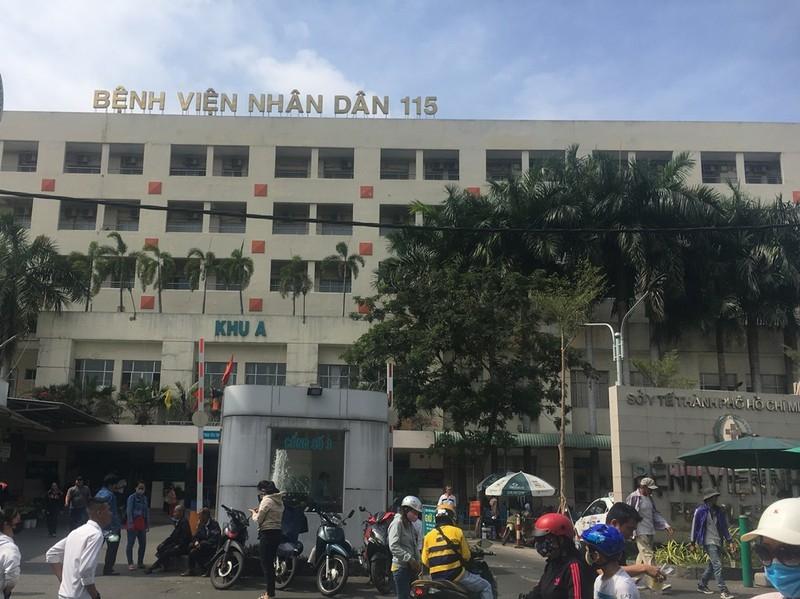Bệnh viện 115 TP.HCM. (Ảnh qua vtv)