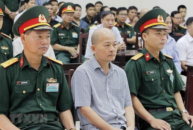Bị cáo Đinh Ngọc Hệ, cựu phó tổng giám đốc Tổng công ty Thái Sơn. (Ảnh qua TTXVN)