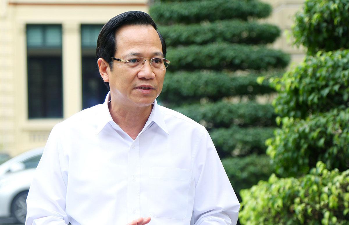 Bộ trưởng Bộ LĐ-TB&XH Đào Ngọc Dung. (Ảnh qua tuoitre)