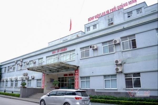 Bệnh viện Lao phổi Quảng Ninh dừng tiếp nhận bệnh nhân mới để ngăn dịch viêm phổi Vũ Hán. (Ảnh qua vietnamnet)