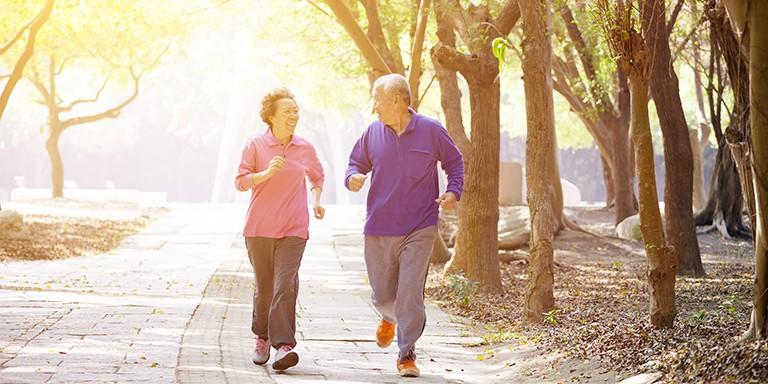 Chạy bộ giúp tăng cường trí nhớ.