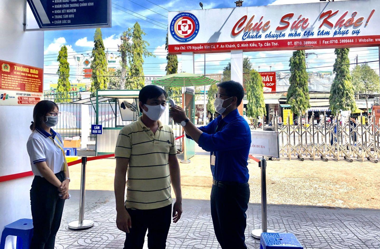Cần Thơ điều động hơn 1.500 sinh viên Trường ĐH Y dược tham gia phòng chống dịch Vũ Hán2