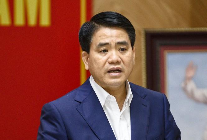 Chủ tịch UBND thành phố Hà Nội Nguyễn Đức Chung. (Ảnh qua tienphong)