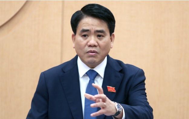 Chủ tịch UBND TP. Hà Nội Nguyễn Đức Chung. (Ảnh qua vnexpress)