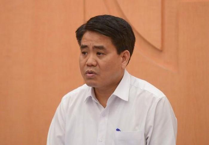 Chủ tịch Hà Nội Nguyễn Đức Chung. (Ảnh qua netnews)