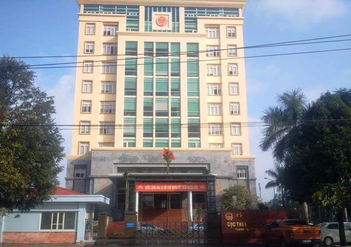 Cục thuế tỉnh Thanh Hóa. (Ảnh qua nld)