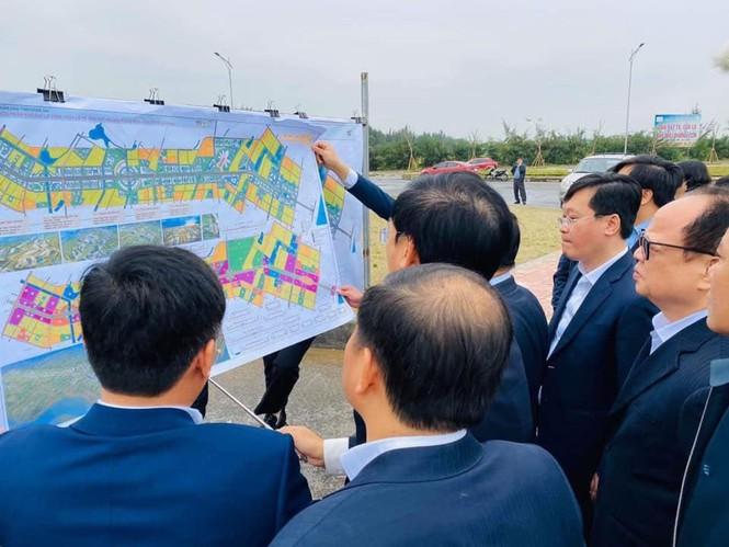 Đoàn công tác của Bộ Kế hoạch và Đầu tư làm việc tại Nghệ An. (Ảnh qua tienphong)