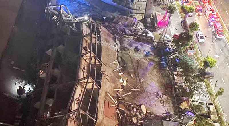 Sự cố sập khách sạn Hân Giai ở thành phố Tuyền Châu tỉnh Phúc Kiến xảy ra vào tối ngày 7/3 khiến ít nhất 10 người tử vong, 23 người mất liên lạc.