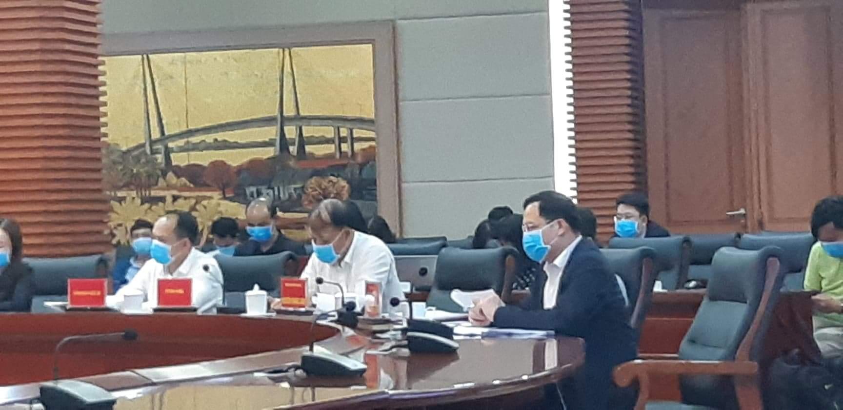 Dịch virus Vũ Hán GĐ Sở Công Thương Hải Phòng báo cáo 'lan man', bị phê bình tại hội nghị