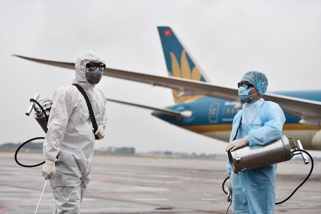 Dịch virus Vũ Hán Vietnam Airlines tạm dừng bay các chuyến quốc tế 2