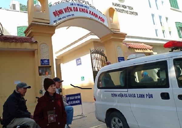 Hà Nội BV Xanh Pôn phong tỏa một khoa do có liên quan đến người nhiễm virus Vũ Hán 4
