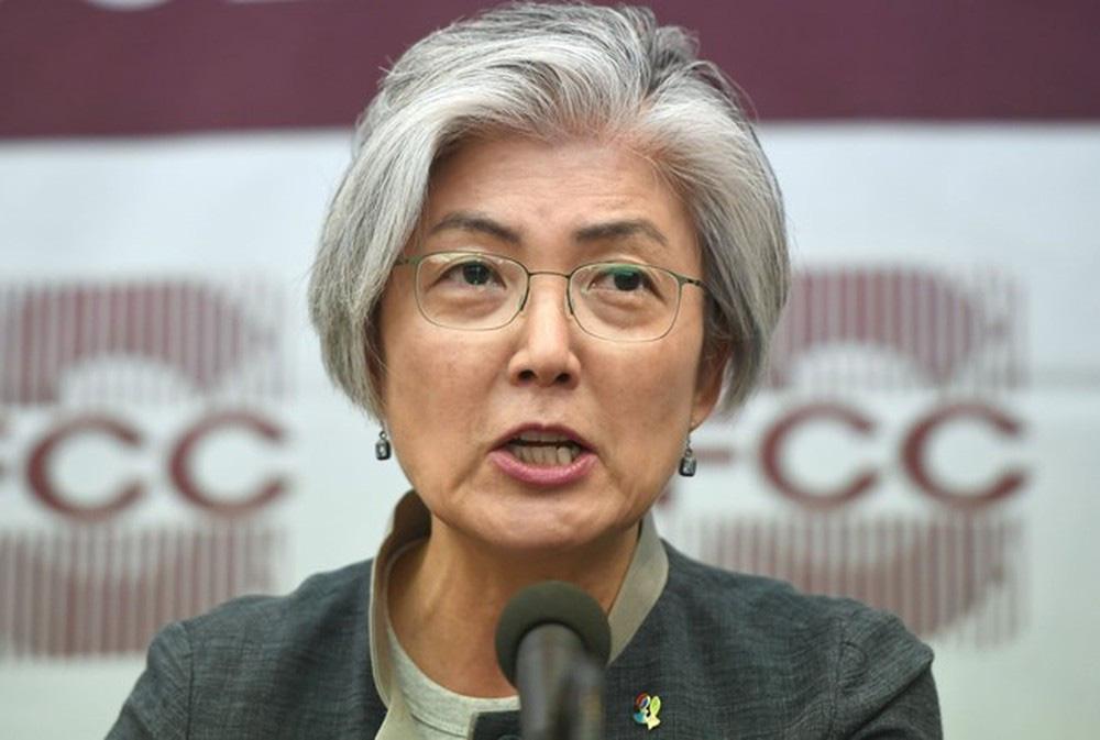 Ngoại trưởng Hàn Quốc Kang Kyung Wha. (Ảnh qua tuoitre)