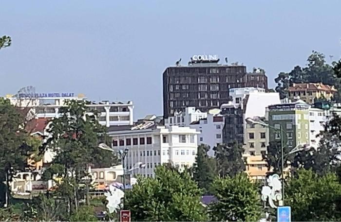 Một khu khách sạn, nhà nghỉ gần đường Phan Bội Châu. (Ảnh qua tin247)
