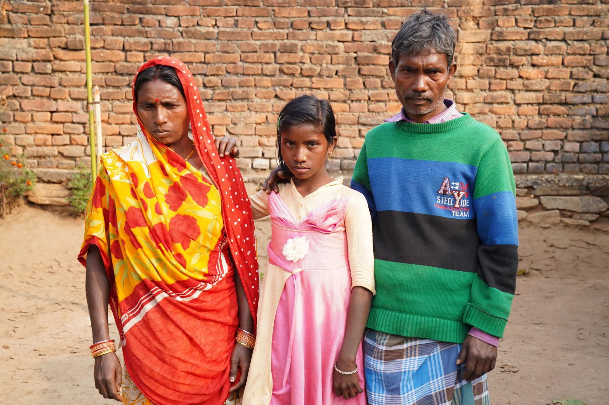 Gia đình ông Kishar Kumari đã mất đi một đứa con gái.