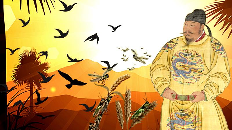 Gương người xưa: Đường Thái Tông nói một câu, nạn châu chấu lập tức biến mất