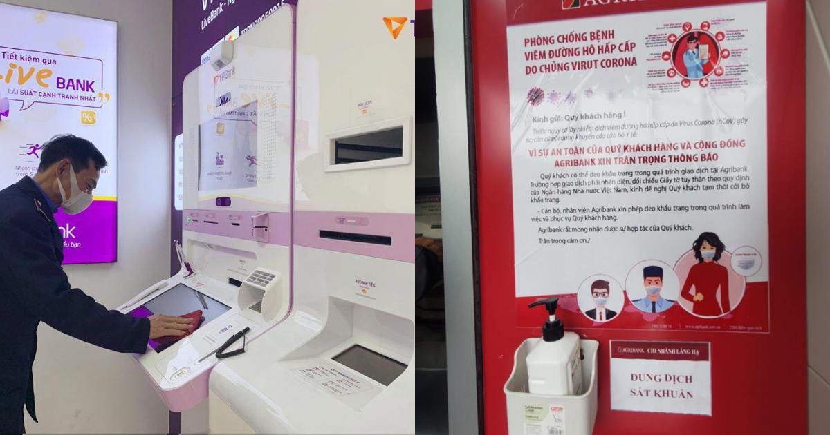 Ngân hàng Nhà nước yêu cầu khử khuẩn tiền mặt để phòng dịch viêm phổi Vũ Hán 2