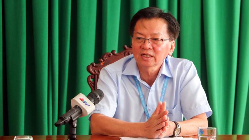 Giám đốc Sở Y tế Hậu Giang Nguyễn Thanh Tùng. (Ảnh qua Plo)