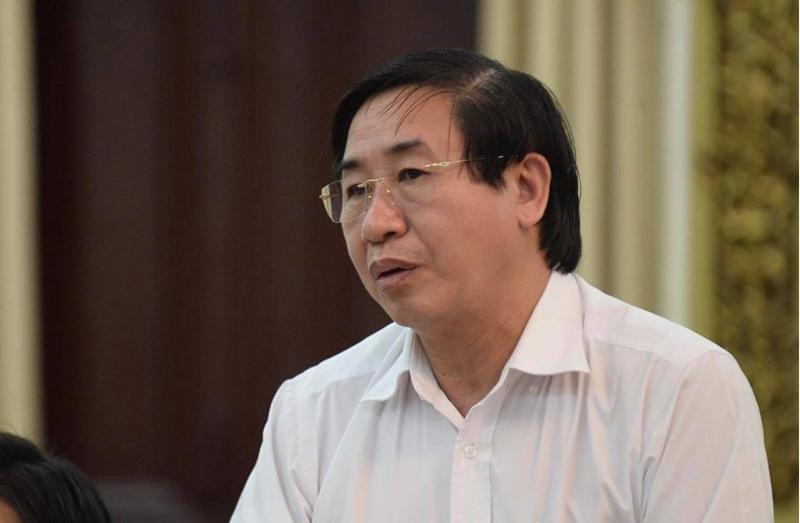 Ông Ngô Minh Xuân - hiệu trưởng Đại học Y khoa Phạm Ngọc Thạch. (Ảnh qua tuoitre)