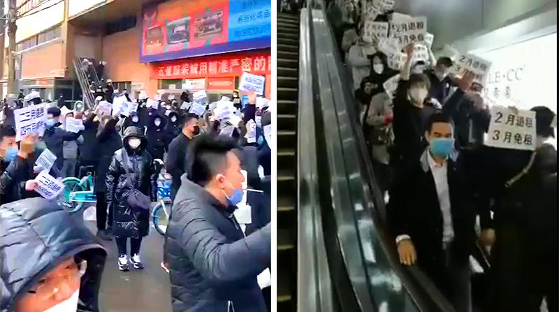ĐCSTQ bỏ mặc người dân 'tự bơi' trong dịch bệnh, một làn sóng phản kháng đã nổ ra ở Đông Bắc, Quảng Châu (ảnh 1)