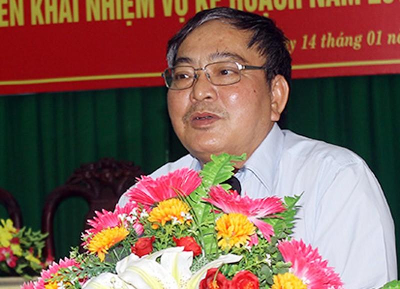 Phó chủ tịch UBND tỉnh Hậu Giang Nguyễn Văn Tuấn. (Ảnh qua vietnamdaily)
