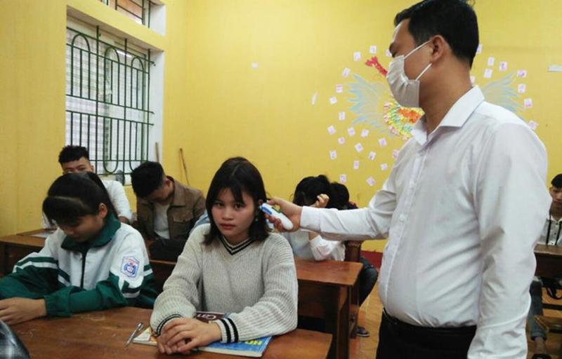 Sơn La cho học sinh nghỉ học sau 1 ngày trở lại trường. (Ảnh qua tienphong)