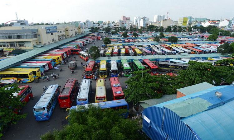 TP.HCM đề xuất dừng hoạt động các tuyến xe khách liên tỉnh tại từ tối 27/3. (Ảnh qua thanhnien)
