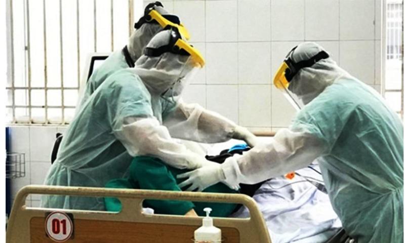 Việt Nam ghi nhân thêm 5 ca nhiễm viêm phổi Vũ Hán mới, nâng số ca bệnh tại lên 66 người. (Ảnh qua VTV)