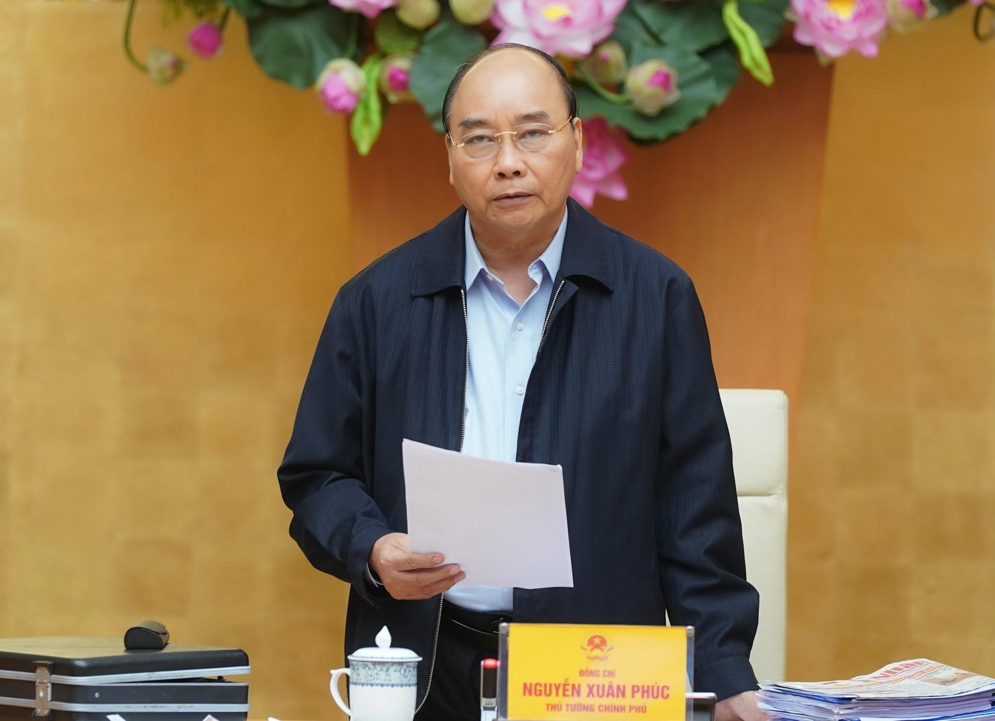 Thủ tướng Xuân Phúc đồng ý cho công bố dịch Vũ Hán trên toàn quốc