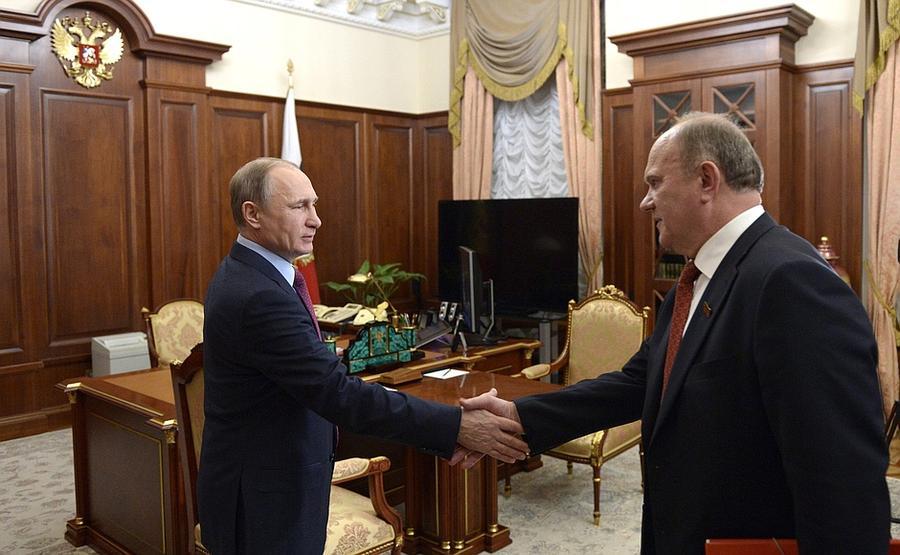 Tổng bí thư ĐCS Nga ủng hộ Putin 'đưa Thượng Đế' vào hiến pháp - ảnh 1