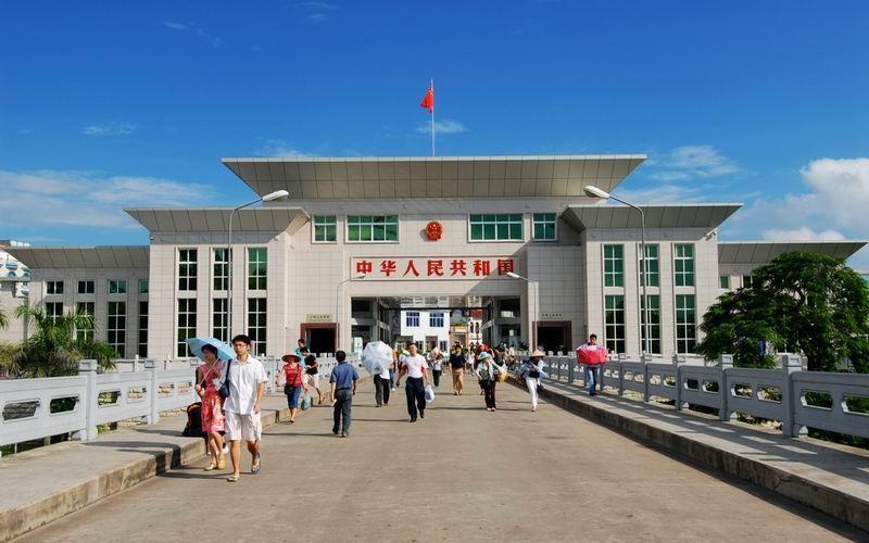 Trung Quốc đã mở tất cả các cửa khẩu Trung-Việt ở tỉnh Quảng Tây 5