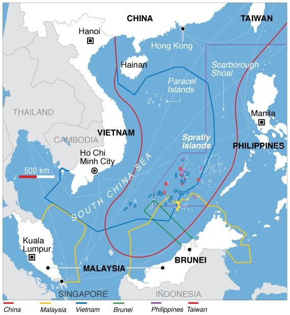 Trung Quốc đang thực hiện chiến dịch thay đổi bản đồ thế giới - ảnh 1