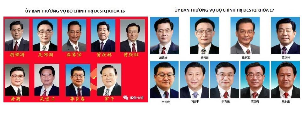 Chỉ riêng Đại hội Đảng 16 và 17, Ủy ban Thường vụ Bộ Chính trị mới có 9 thành viên, các kỳ đại hội khác đều là 7 thành viên.