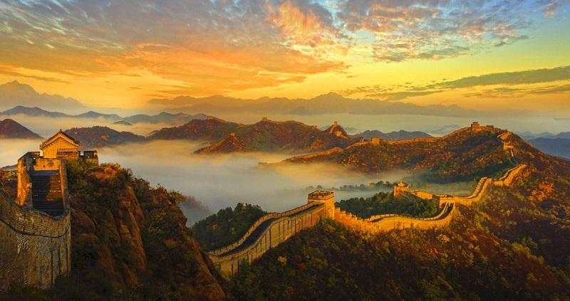 Vạn Lý Trường Thành lưu truyền hậu thế là biểu tượng kết nối văn hóa lịch sử các triều đại Trung Quốc. (Ảnh qua Vietsense Travel)