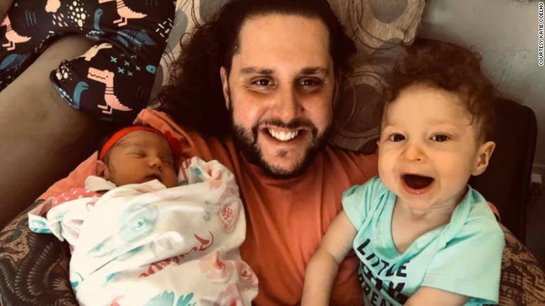 Jonathan Coelho cùng con gái Penelope và con trai Braedyn