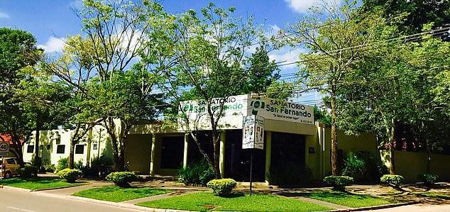 phòng khám tư nhân San Fernado tại thành phố Coronel Oviedo