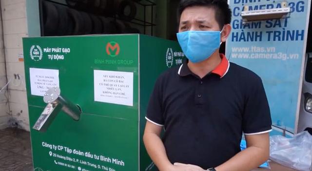 Kiên Giang: Cây ATM gạo đầu tiên giúp nhiều người vượt qua dịch virus Vũ Hán - Ảnh 3