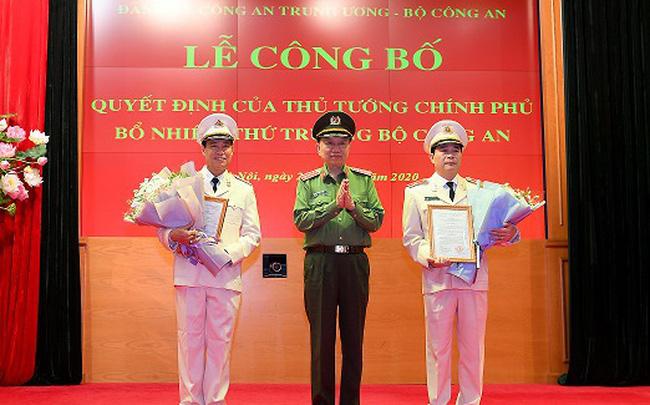 Thủ tướng Nguyễn Xuân Phúc bổ nhiệm 2 Thiếu tướng lên làm Thứ trưởng Bộ Công an - Ảnh 1